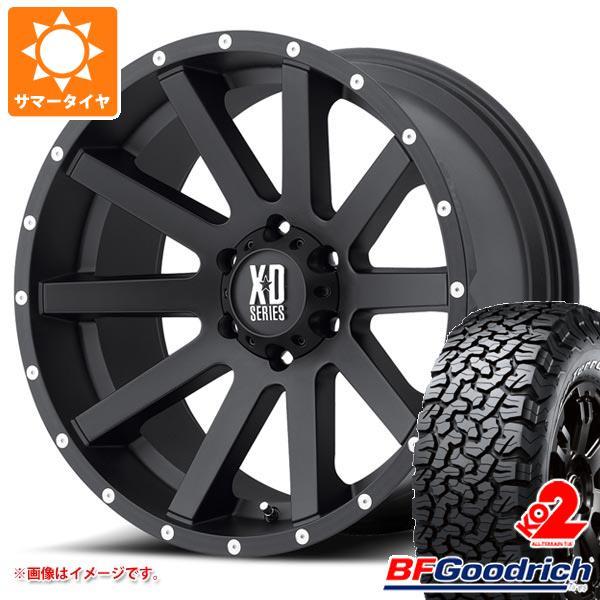 正規品 サマータイヤ 275/55R20 115/112S BFグッドリッチ オールテレーン T/A KO2 ブラックレター KMC XD818 ヘイスト 9.0-20 タイヤホイール4本セット