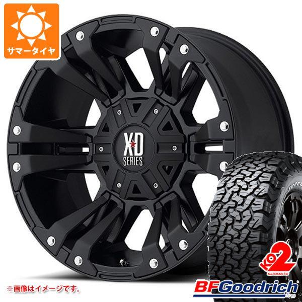 サマータイヤ 275/55R20 115/112S BFグッドリッチ オールテレーン T/A KO2 ブラックレター KMC XD822 モンスター2 9.0-20 タイヤホイール4本セット