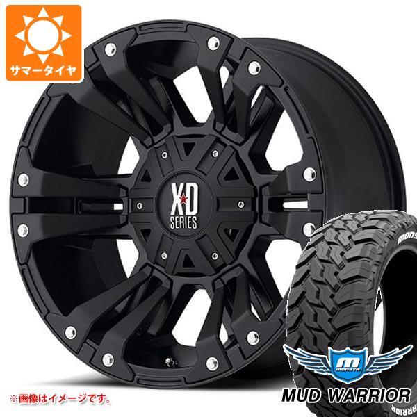 サマータイヤ 265/50R20 117/114Q モンスタ マッドウォーリアー ホワイトレター KMC XD822 モンスター2 9.0-20 タイヤホイール4本セット