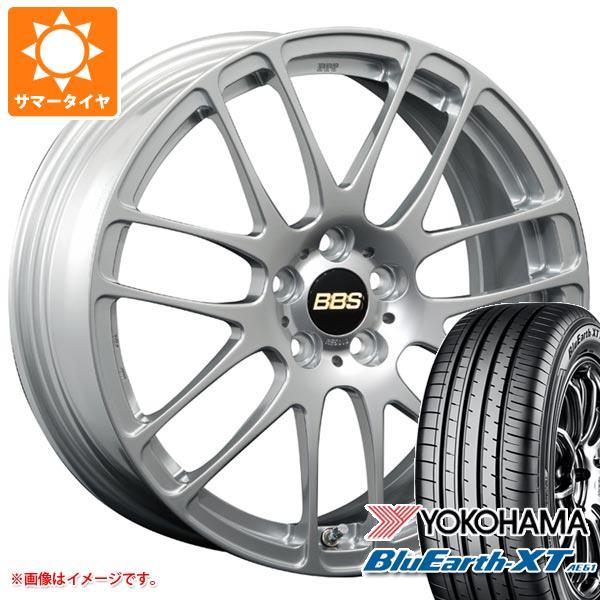 サマータイヤ 225/65R17 102H ヨコハマ ブルーアースXT AE61 BBS RE-L2 7.0-17 タイヤホイール4本セット