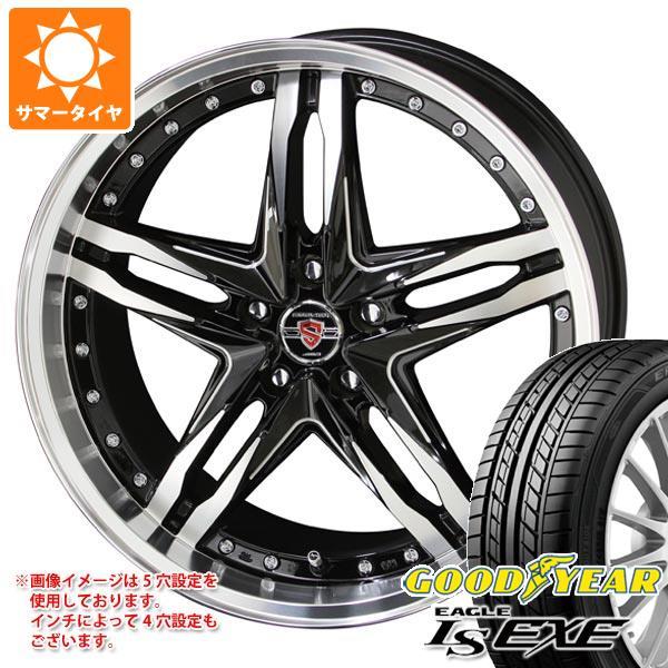 サマータイヤ 205/45R16 87W XL グッドイヤー イーグル LSエグゼ シュタイナー LSV 6.0-16 タイヤホイール4本セット