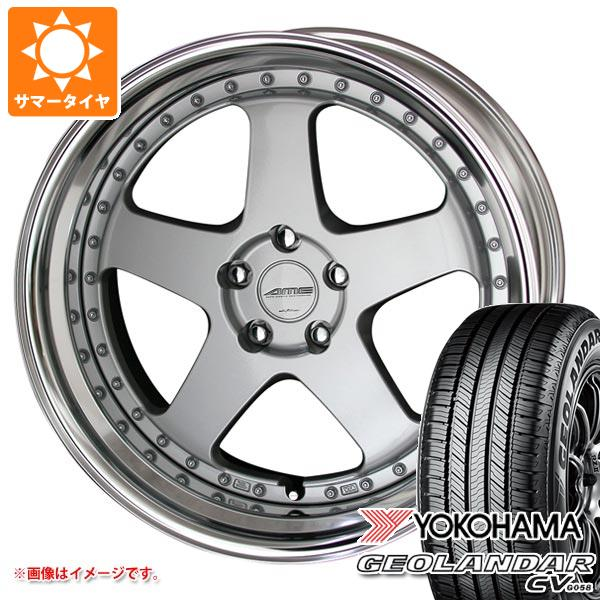 サマータイヤ 225/55R19 99V ヨコハマ ジオランダー CV シャレン VFX 8.0-19 タイヤホイール4本セット