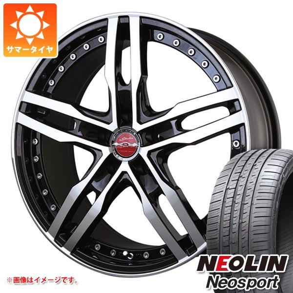 サマータイヤ 245/45R19 102W XL ネオリン ネオスポーツ シャレン XF-55 モノブロック 8.0-19 タイヤホイール4本セット
