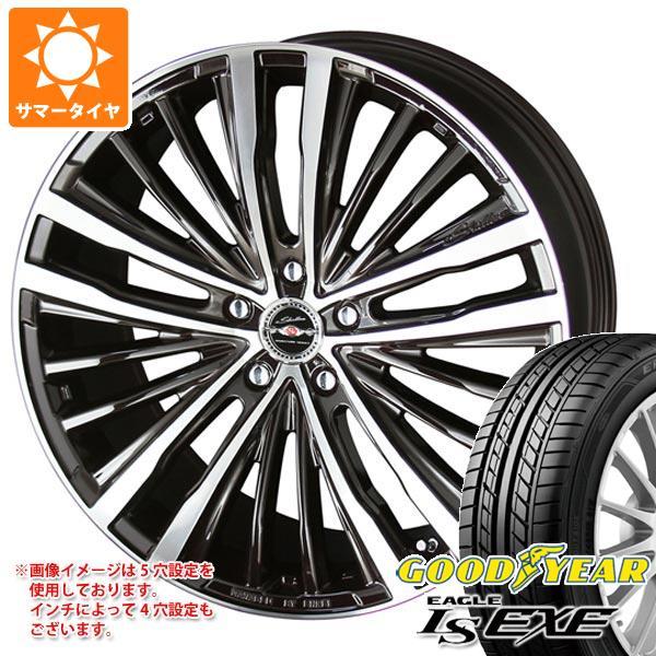 サマータイヤ 165/45R16 74W XL グッドイヤー イーグル LSエグゼ シャレン XR-75 モノブロック 5.0-16 タイヤホイール4本セット
