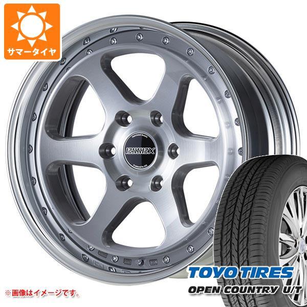ハイエース 200系専用 サマータイヤ トーヨー オープンカントリー U/T 215/70R16 100H エセックス EL 2P 6.5-16 タイヤホイール4本セット