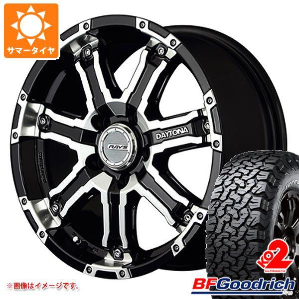 正規品 サマータイヤ 225/70R16 102/99R BFグッドリッチ オールテレーン T/A KO2 ホワイトレター レイズ デイトナ FDX-D DK 7.0-16 タイヤホイール4本セット