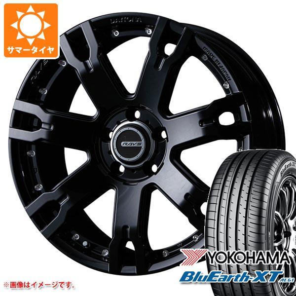 サマータイヤ 235/55R18 100V ヨコハマ ブルーアースXT AE61 レイズ デイトナ FDX F7S BT 7.5-18 タイヤホイール4本セット