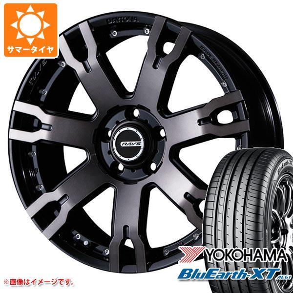 サマータイヤ 215/55R18 99V XL ヨコハマ ブルーアースXT AE61 2020年4月発売サイズ レイズ デイトナ FDX F7S 7.5-18 タイヤホイール4本セット