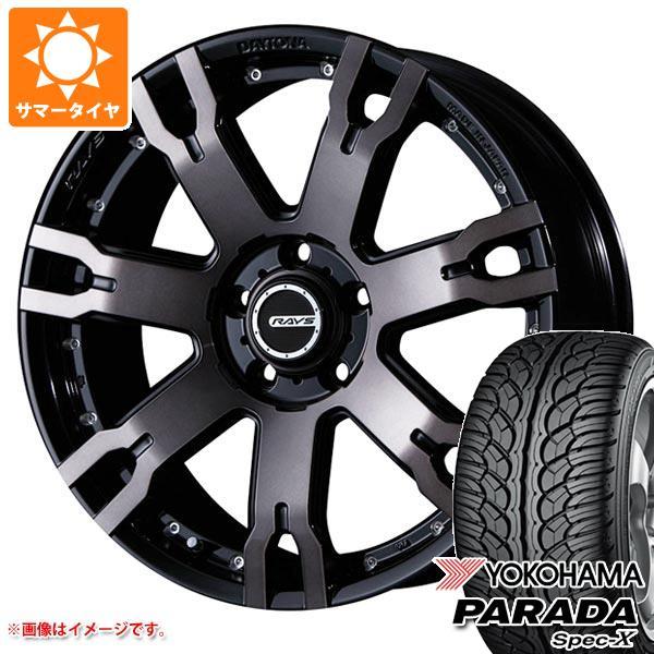 サマータイヤ 235/60R18 103V ヨコハマ パラダ スペック-X PA02 レイズ デイトナ FDX F7S KZ 7.5-18 タイヤホイール4本セット