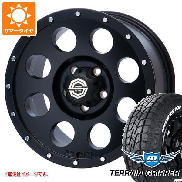 サマータイヤ 285/70R17 121/118R モンスタ テレーングリッパー ホワイトレター アイメタル X2 8.0-17 タイヤホイール4本セット