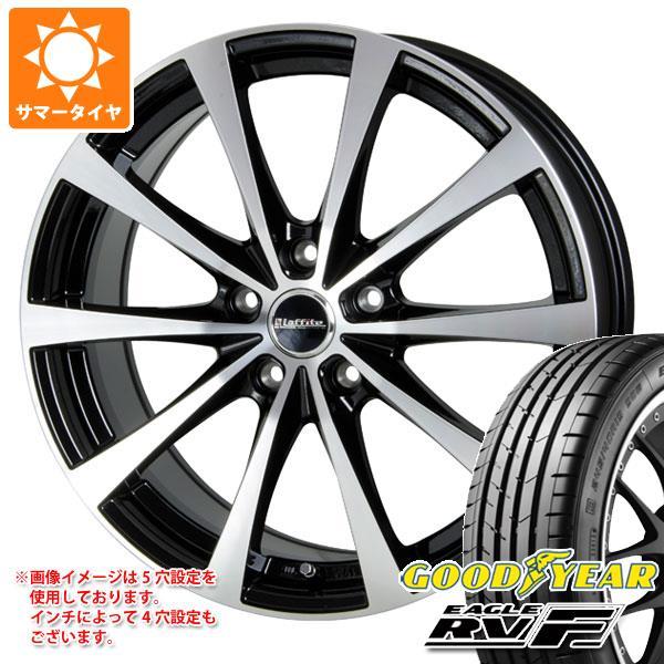 サマータイヤ 205/60R16 92V グッドイヤー イーグル RV-F ラフィット LE-03 6.5-16 タイヤホイール4本セット