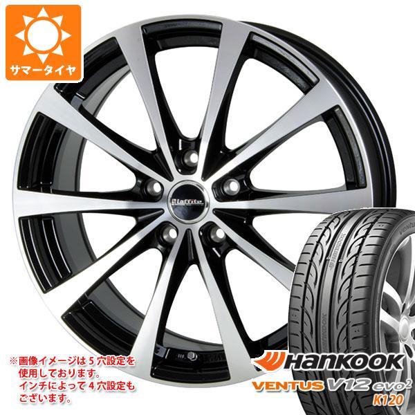 サマータイヤ 195/50R15 82V ハンコック ベンタス V12evo2 K120 ラフィット LE-03 5.5-15 タイヤホイール4本セット
