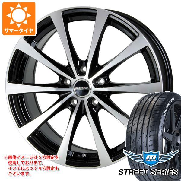サマータイヤ 215/40R17 88V XL モンスタ ストリートシリーズ ホワイトレター ラフィット LE-03 6.5-17 タイヤホイール4本セット