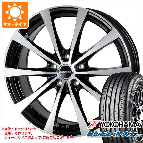 サマータイヤ 215/60R16 95V ヨコハマ ブルーアースXT AE61 ラフィット LE-03 6.5-16 タイヤホイール4本セット