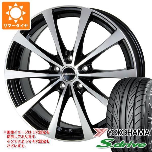 サマータイヤ 165/55R14 72V ヨコハマ DNA S.ドライブ ES03 ラフィット LE-03 4.5-14 タイヤホイール4本セット