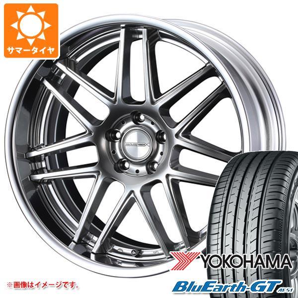 サマータイヤ 245/35R19 93W XL ヨコハマ ブルーアースGT AE51 マーベリック 1107T 8.5-19 タイヤホイール4本セット