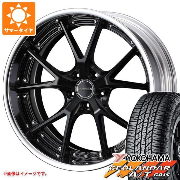 サマータイヤ 235/55R18 104H XL ヨコハマ ジオランダー A/T G015 ブラックレター マーベリック 905S 8.0-18 タイヤホイール4本セット