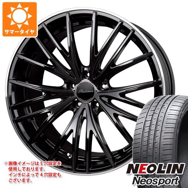 サマータイヤ 225/45R18 95W XL ネオリン ネオスポーツ プレシャス アスト M1 7.0-18 タイヤホイール4本セット
