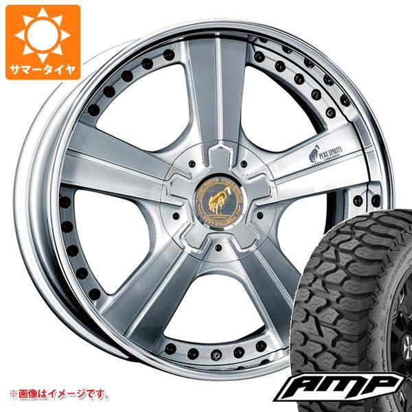 サマータイヤ 275/55R20 8PR AMPテレーンアタック A/T スーパースター ピュアスピリッツ オークス 8.0-20 タイヤホイール4本セット