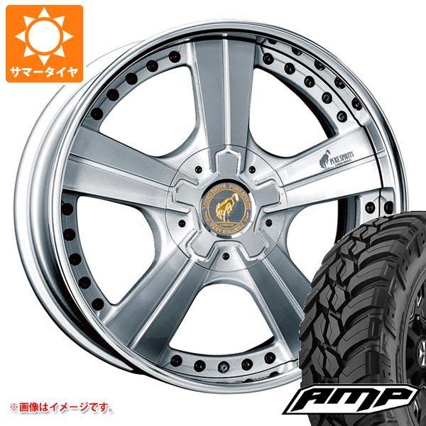 サマータイヤ 285/55R20 122/119S AMP マッドテレーンアタック M/T A スーパースター ピュアスピリッツ オークス 8.0-20 タイヤホイール4本セット