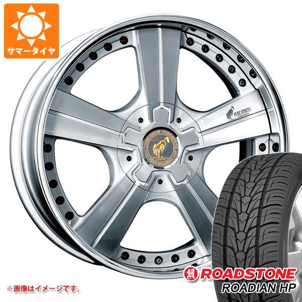 サマータイヤ 305/40R22 114V XL ロードストーン ローディアン HP スーパースター ピュアスピリッツ オークス 9.0-22 タイヤホイール4本セット
