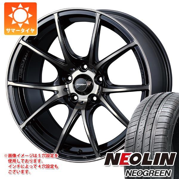 サマータイヤ 165/50R15 72V ネオリン ネオグリーン ウェッズスポーツ SA-10R 5.0-15 タイヤホイール4本セット