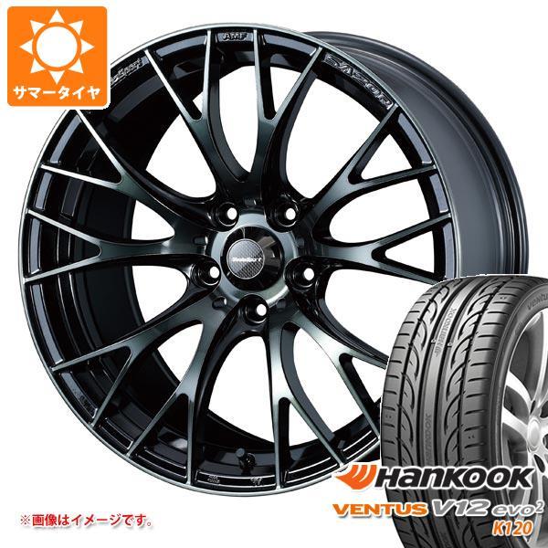 サマータイヤ 215/45R17 91Y XL ハンコック ベンタス V12evo2 K120 ウェッズスポーツ SA-20R 7.0-17 タイヤホイール4本セット