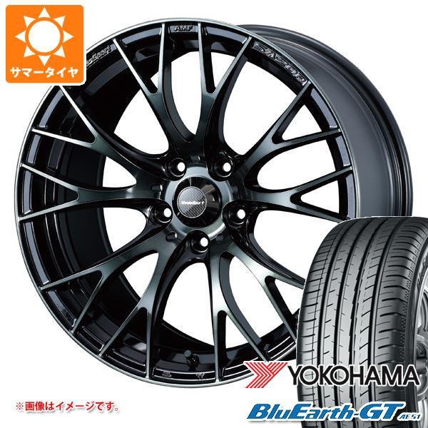 サマータイヤ 185/55R15 82V ヨコハマ ブルーアースGT AE51 ウェッズスポーツ SA-20R 6.0-15 タイヤホイール4本セット
