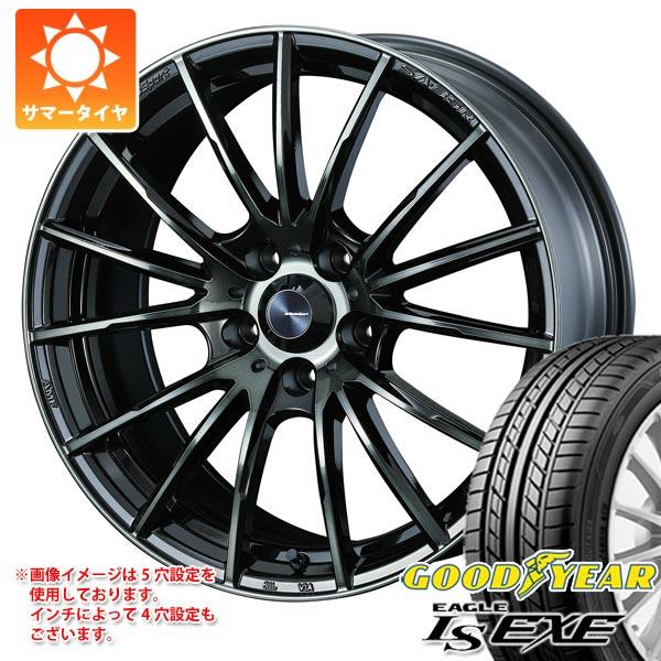 サマータイヤ 225/60R16 98H グッドイヤー イーグル LSエグゼ ウェッズスポーツ SA-35R 7.0-16 タイヤホイール4本セット