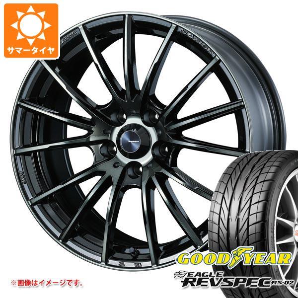 サマータイヤ 195/50R16 84V グッドイヤー イーグル レヴスペック RS-02 ウェッズスポーツ SA-35R 7.0-16 タイヤホイール4本セット