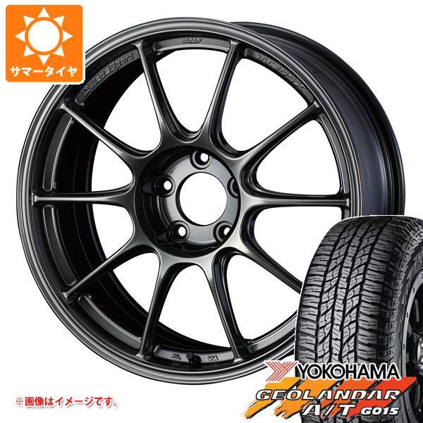 サマータイヤ 235/55R18 104H XL ヨコハマ ジオランダー A/T G015 ブラックレター ウェッズスポーツ TC105X 8.0-18 タイヤホイール4本セット