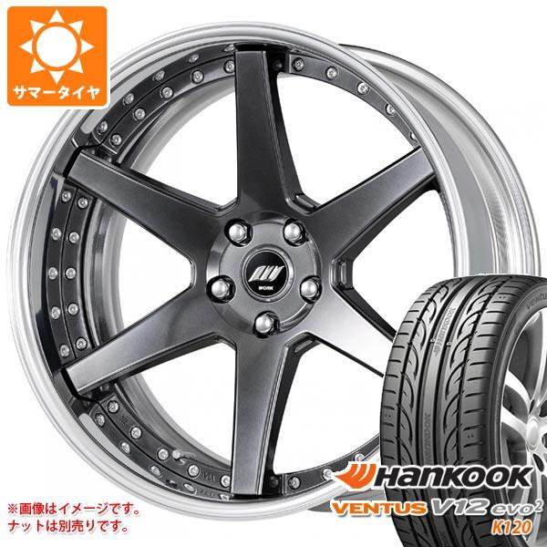 サマータイヤ 245/35R20 95Y XL ハンコック ベンタス V12evo2 K120 バックレーベル ジースト BST1 8.0-20 タイヤホイール4本セット