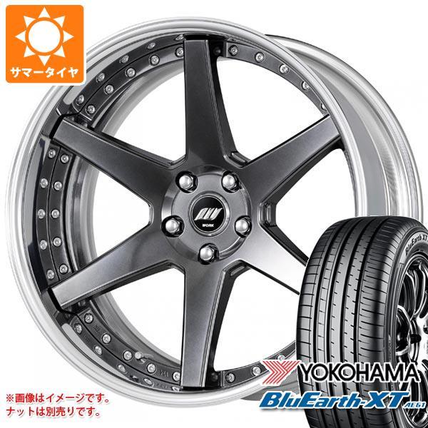 サマータイヤ 235/55R20 102V ヨコハマ ブルーアースXT AE61 バックレーベル ジースト BST1 8.0-20 タイヤホイール4本セット