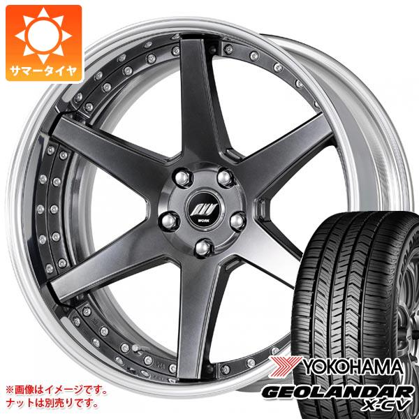 サマータイヤ 235/55R19 105W XL ヨコハマ ジオランダー X-CV G057 ワーク バックレーベル ジースト BST1 8.0-19 タイヤホイール4本セット