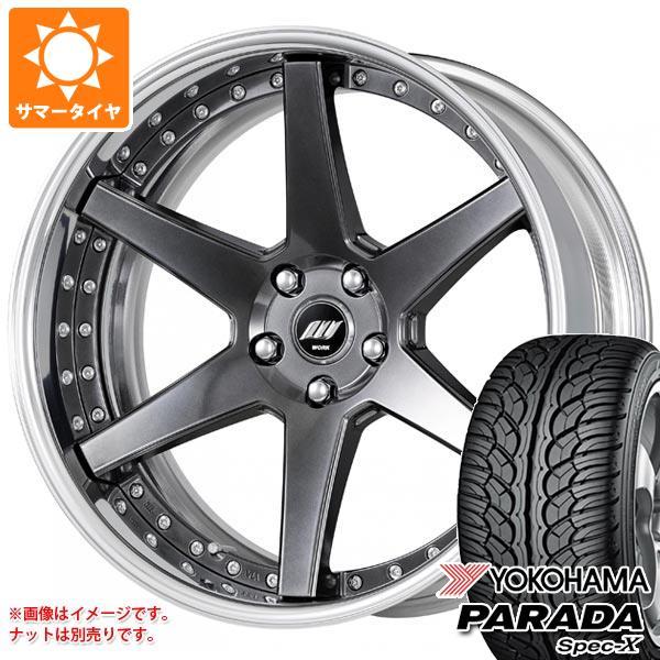 サマータイヤ 235/55R20 102V ヨコハマ パラダ スペック-X PA02 バックレーベル ジースト BST1 8.0-20 タイヤホイール4本セット