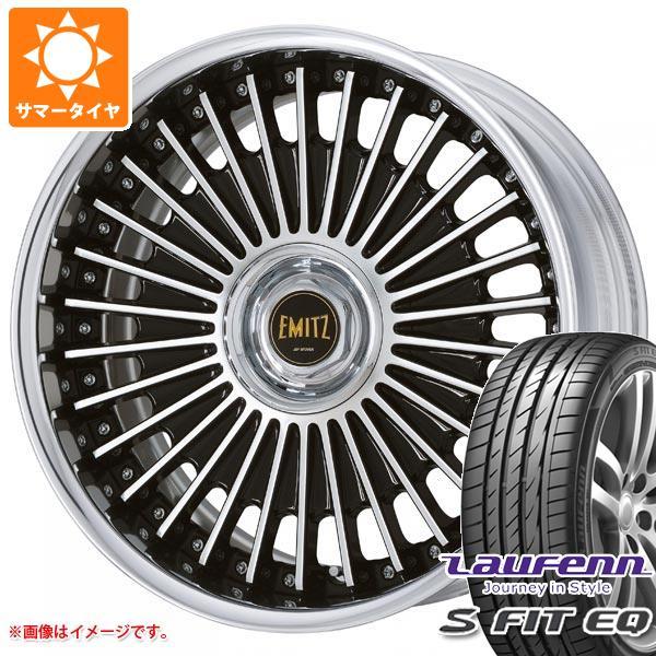 サマータイヤ 235/35R19 91Y XL ラウフェン Sフィット EQ LK01 イミッツ 8.0-19 タイヤホイール4本セット
