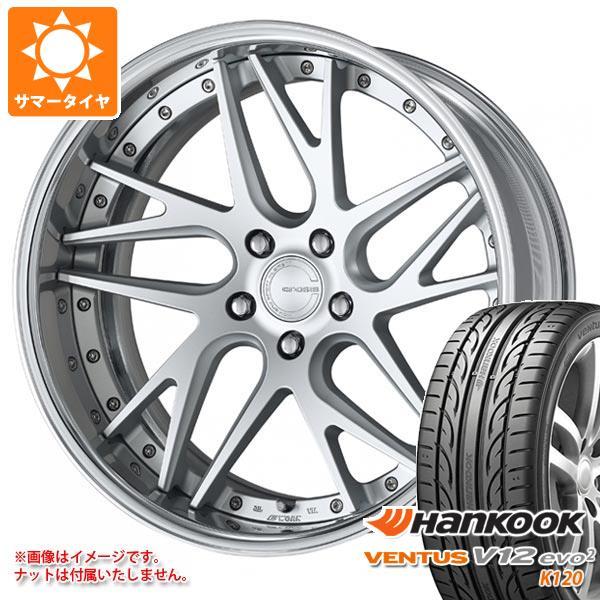 2020年製 サマータイヤ 245/35R21 96Y XL ハンコック ベンタス V12evo2 K120 ワーク グノーシス CVX 8.5-21 タイヤホイール4本セット