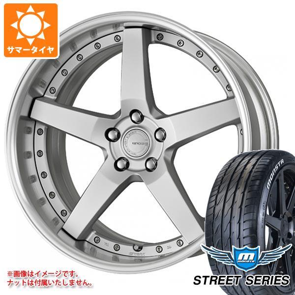 サマータイヤ 245/35R19 93V XL モンスタ ストリートシリーズ ホワイトレター ワーク グノーシス GR203 8.0-19 タイヤホイール4本セット
