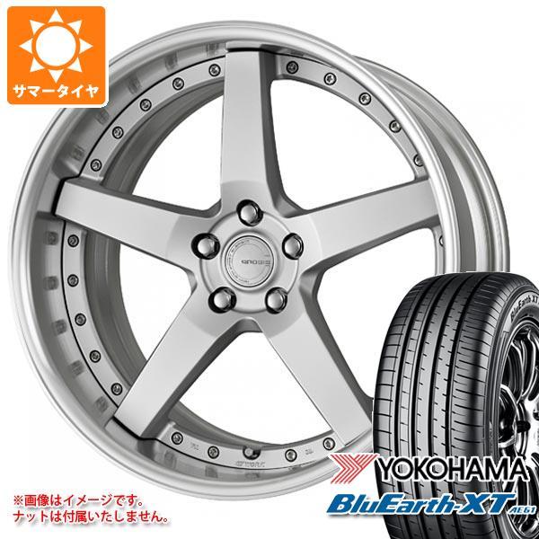 サマータイヤ 235/55R19 101V ヨコハマ ブルーアースXT AE61 グノーシス GR203 8.0-19 タイヤホイール4本セット