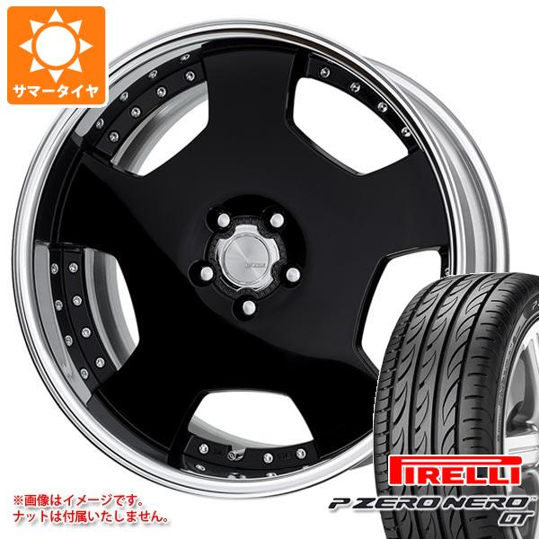 サマータイヤ 245/30R20 (90Y) XL ピレリ P ゼロ ネロ GT ワーク ランベック LD1 8.0-20 タイヤホイール4本セット