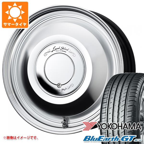 サマータイヤ 155/65R14 75H ヨコハマ ブルーアースGT AE51 ワーク レッドスレッド 4.5-14 タイヤホイール4本セット