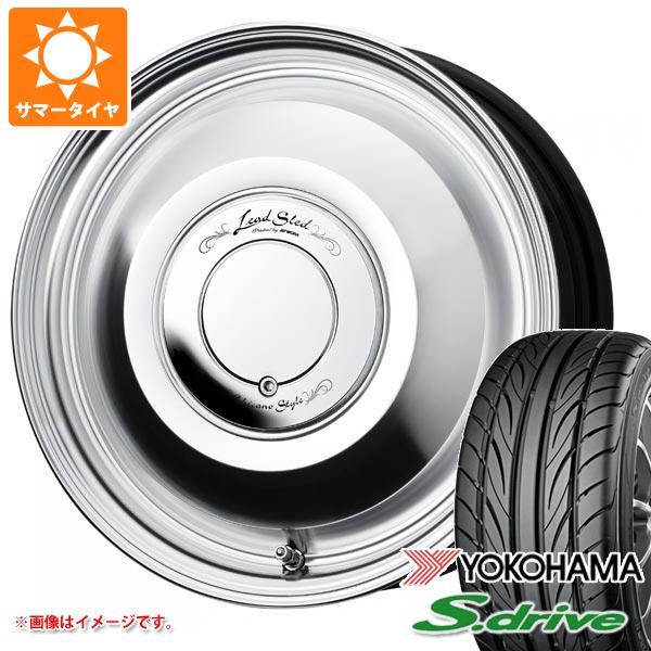 サマータイヤ 165/55R14 72V ヨコハマ DNA S.ドライブ ES03 レッドスレッド 4.5-14 タイヤホイール4本セット