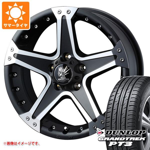 サマータイヤ 215/65R16 98H ダンロップ グラントレック PT3 マッド ヴァンス 01 7.0-16 タイヤホイール4本セット