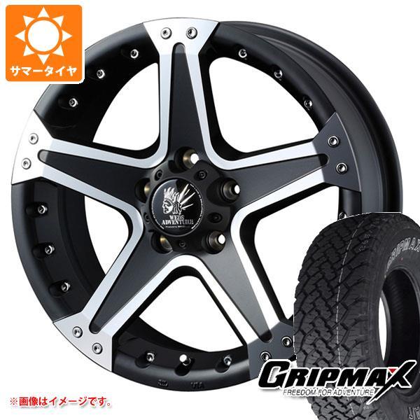 サマータイヤ 235/70R16 106T グリップマックス グリップマックス A/T アウトラインホワイトレター マッドヴァンス01 7.0-16 タイヤホイール4本セット