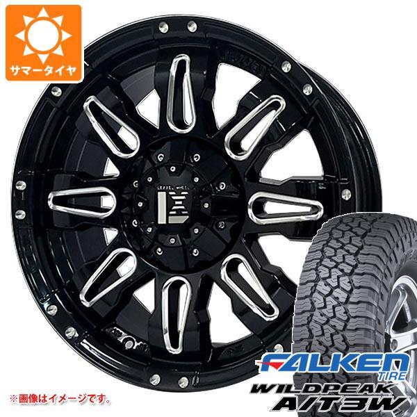 サマータイヤ 285/55R20 122/119Q ファルケン ワイルドピーク A/T3W レクセル バレーノ オフロードスタイル 9.0-20 タイヤホイール4本セット