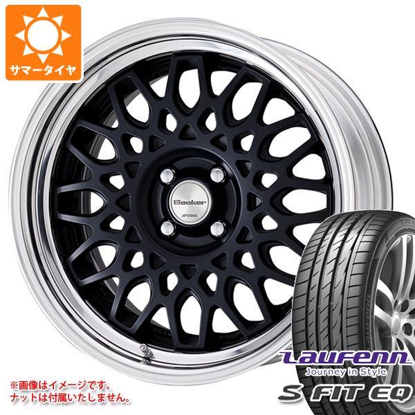 サマータイヤ 235/60R18 107V XL ラウフェン Sフィット EQ LK01 シーカー CX 8.0-18 タイヤホイール4本セット