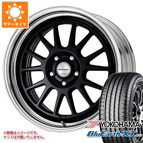 サマータイヤ 235/55R18 100V ヨコハマ ブルーアースXT AE61 シーカー FX 8.0-18 タイヤホイール4本セット