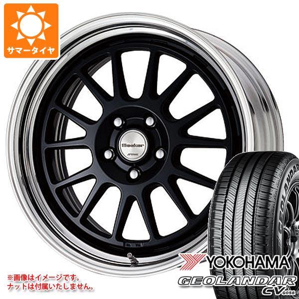 サマータイヤ 235/55R18 100V ヨコハマ ジオランダー CV シーカー FX 8.0-18 タイヤホイール4本セット