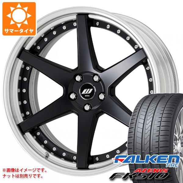 サマータイヤ 255/40R20 (101Y) XL ファルケン アゼニス FK510 ジースト ST1 8.0-20 タイヤホイール4本セット