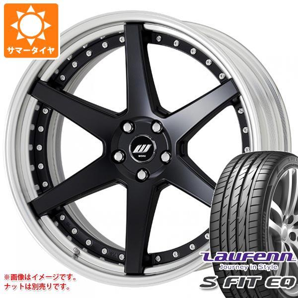 サマータイヤ 235/60R18 107V XL ラウフェン Sフィット EQ LK01 ジースト ST1 8.0-18 タイヤホイール4本セット